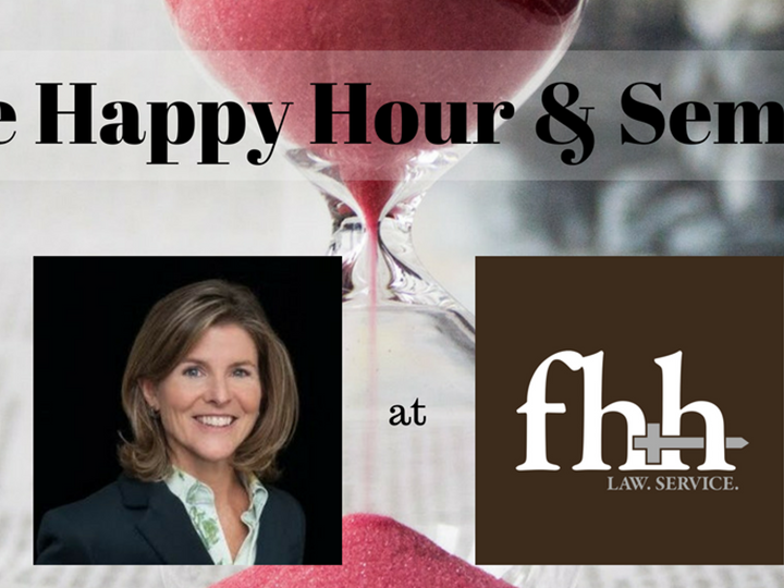 The Illusion of Time and Decision Making - Happy Hour and Webinar