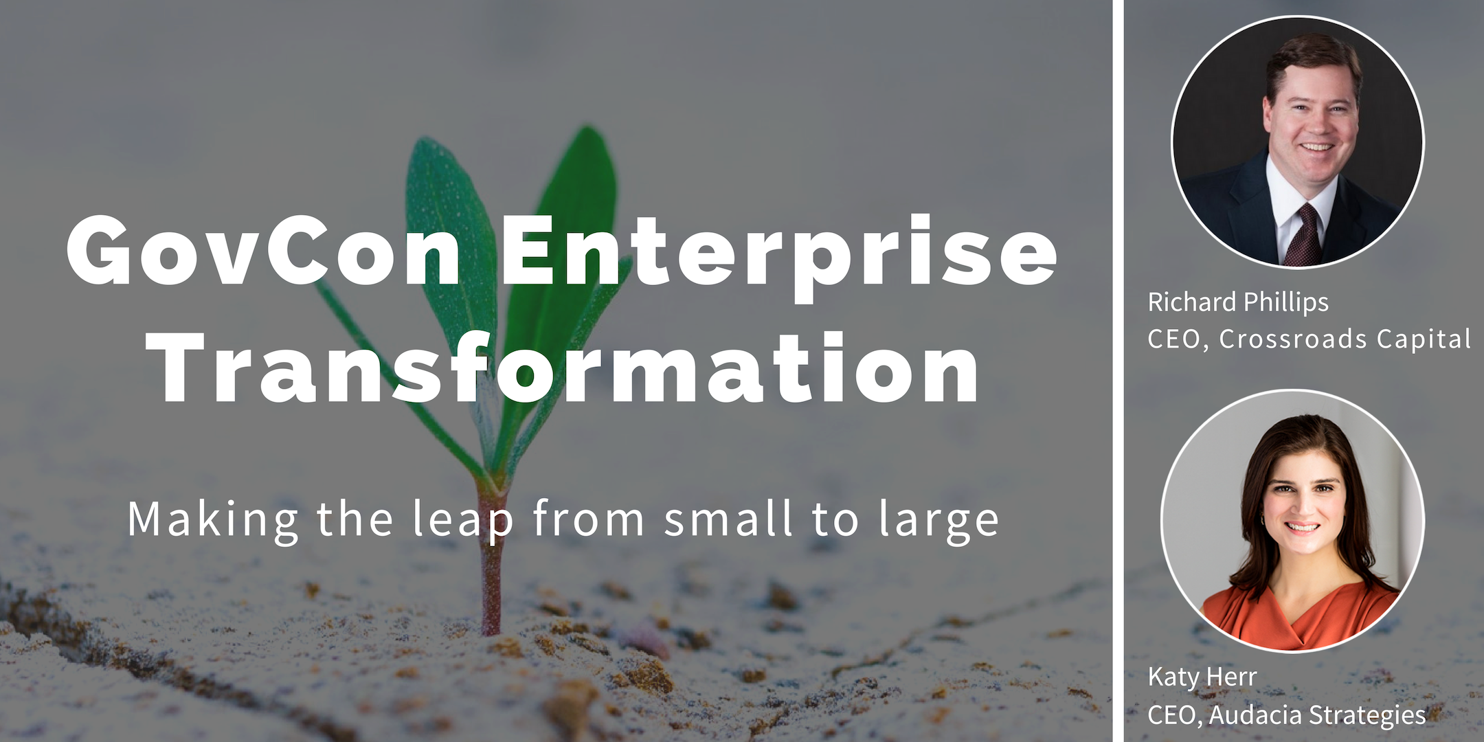 GovCon Enterprise Transformation: Making the Leap from Small to Large
